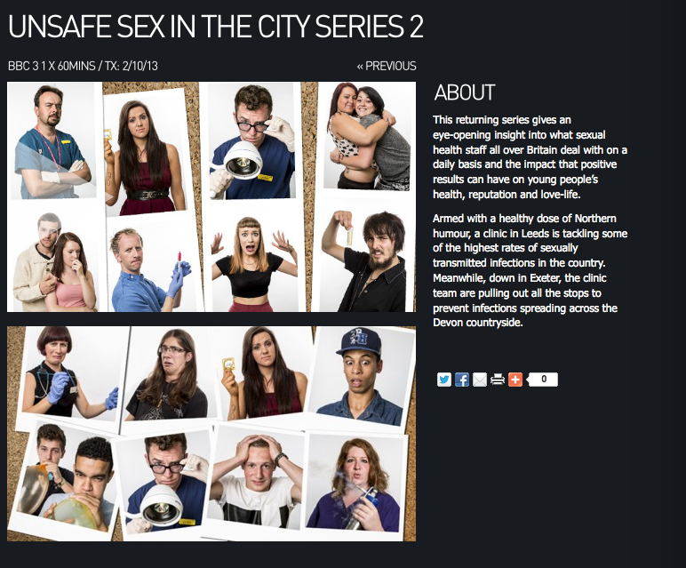 Unsafe Sex in The City