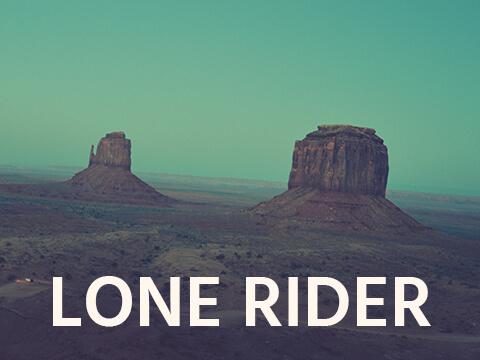 Filmic Folk – Lone Rider