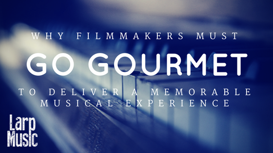 filmmakers go gourmet to deliver music experience | composer | music producer | musical director