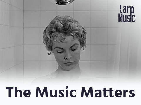 This Classic Psycho Shower Scene Proves #TheMusicMatters