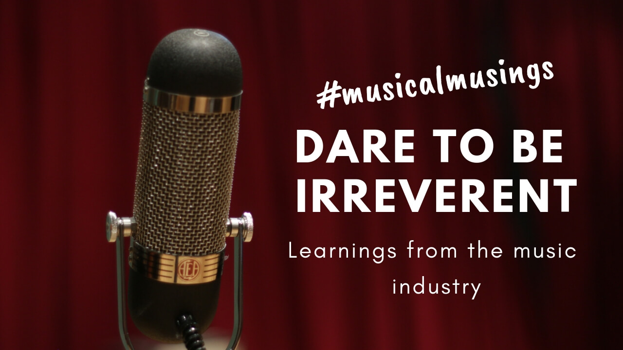 Dare to be Irreverent