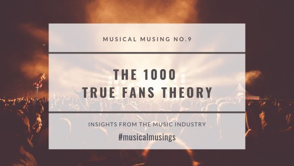 Musical Musing No.1 Insights from the Music Industry