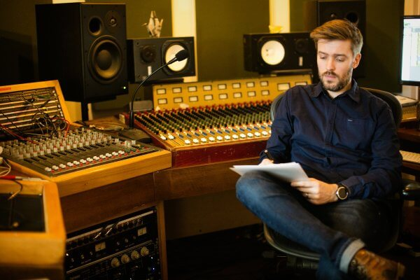 Musical Musings - Insights from the Music Industry - Music Producer Jim Hustwit