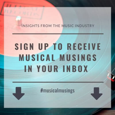 Musical Musings - Get them in your inbox