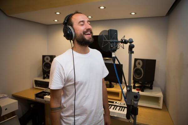 Recording Vocals at Larp Music Studios