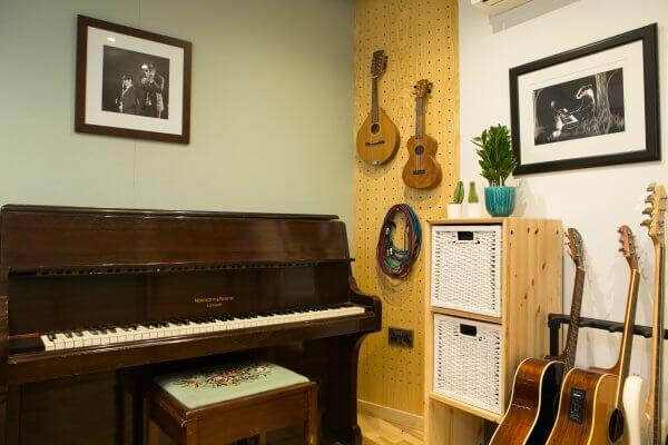 Studio 1 at Larp Music Studios