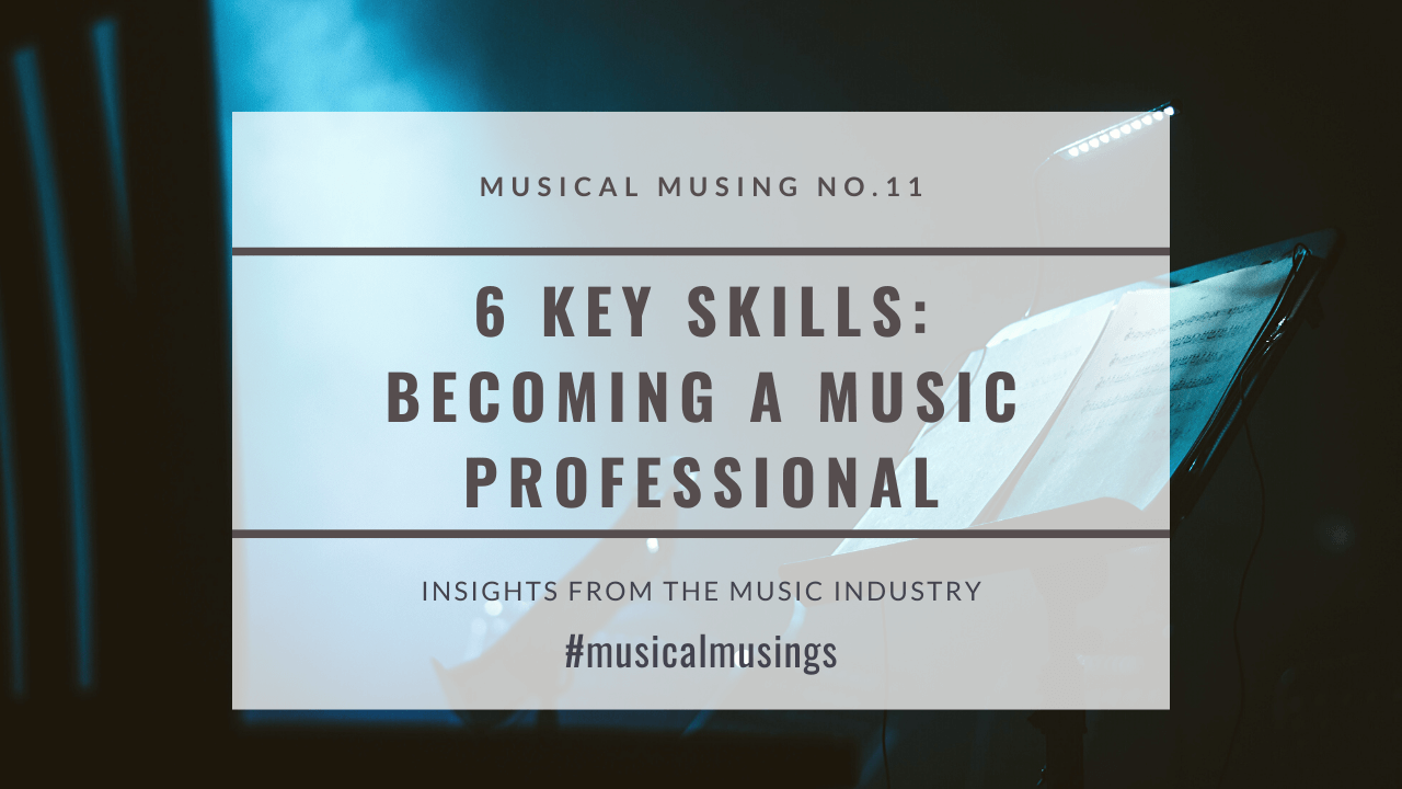 6 Key Elements for Becoming a Professional Composer