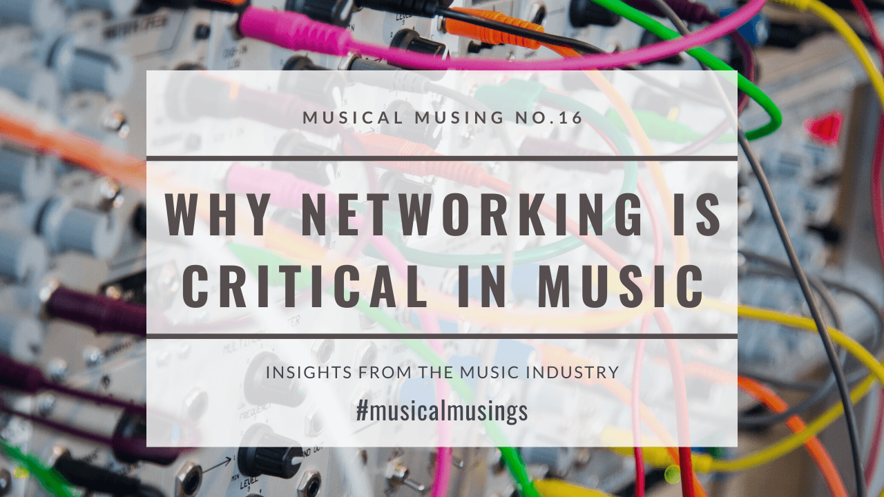 Why Networking is Critical in Music – 5 Tips